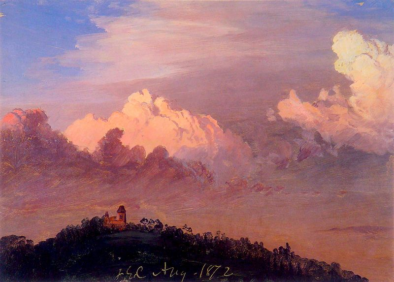 Olana by Frederic Edwin Church